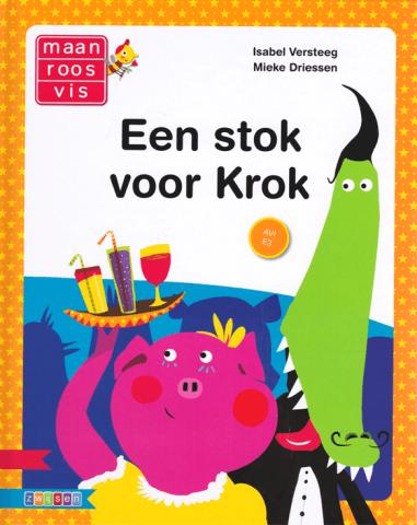 Boekomslag van 'Een stok voor Krok'