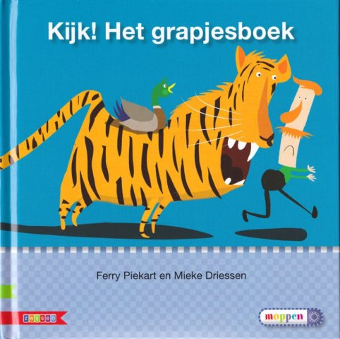 Boekomslag voor 'Kijk! een grapjesboek'
