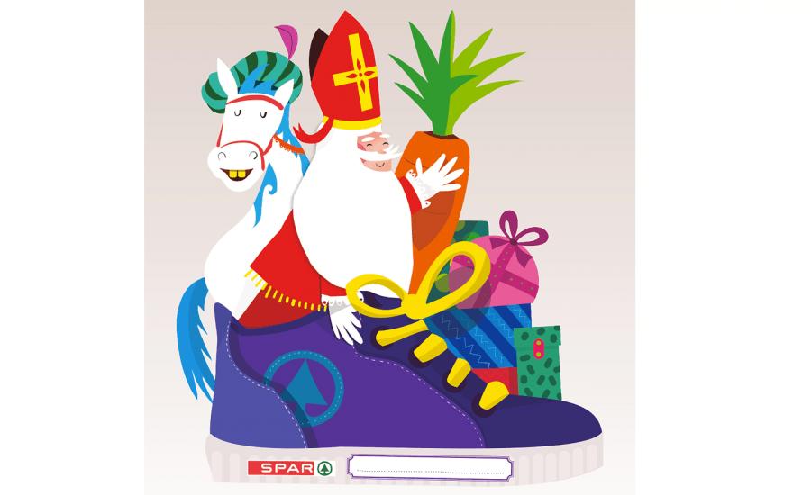 Sinterklaas kinder hoofdplaat