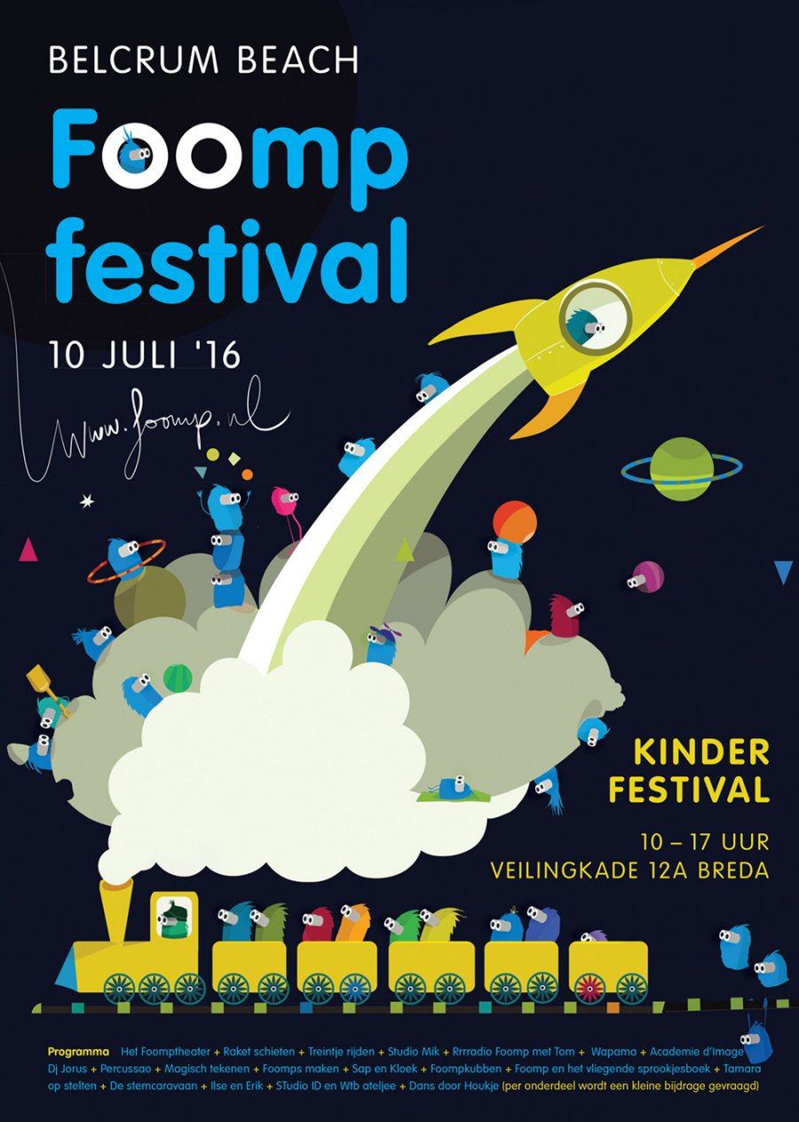 Poster Foompfestival 2016